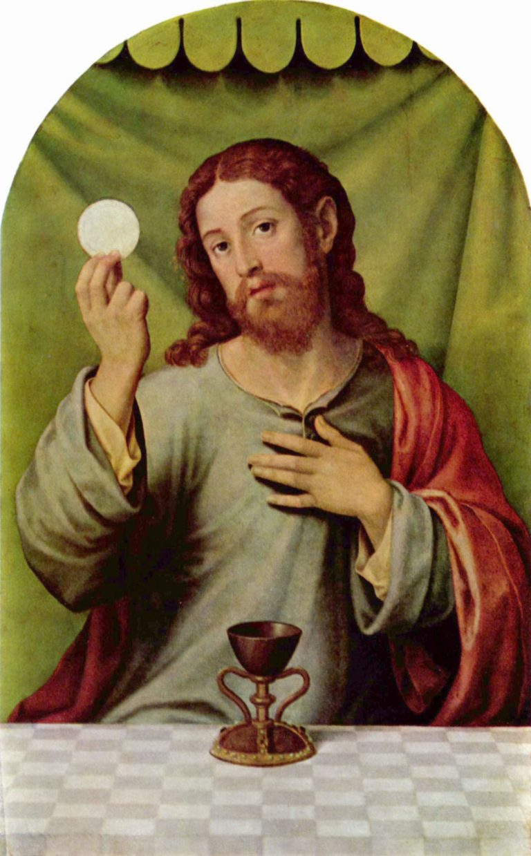 Christ as Eucharistic Redeemer
