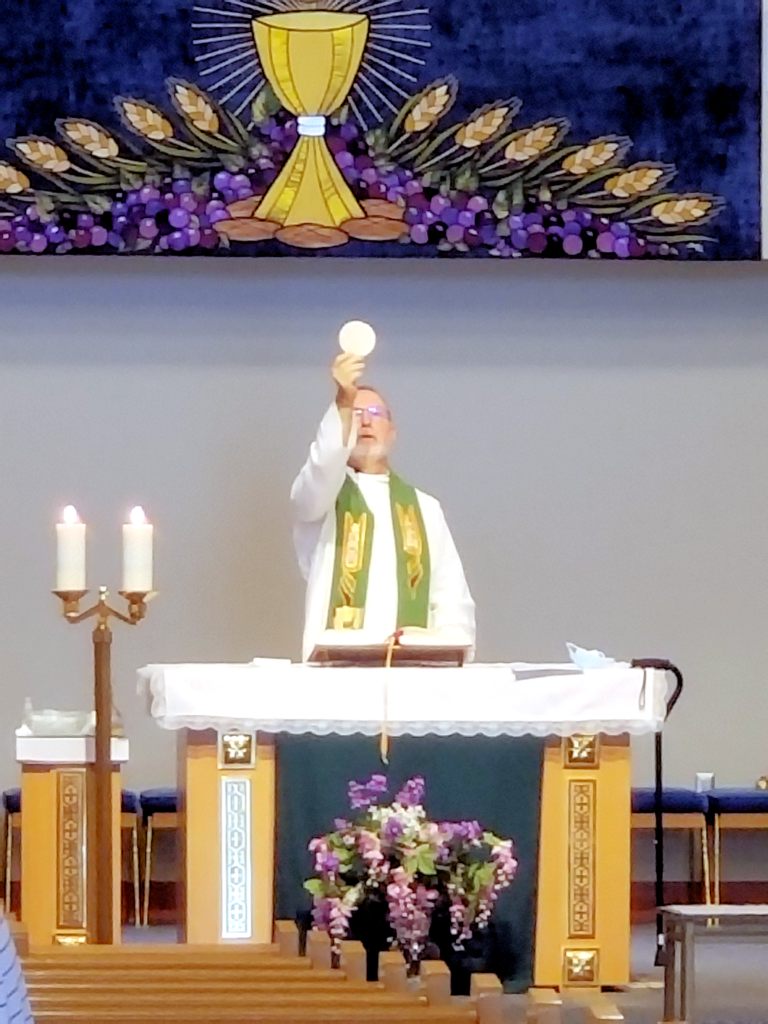 Father Mario Eucharist