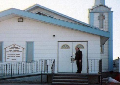 Bernie-church-door-Hay-River-320x228